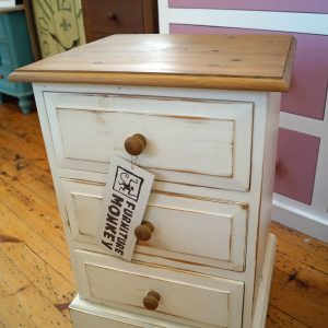 Clearance Edwardian Bedside Painted Distressed