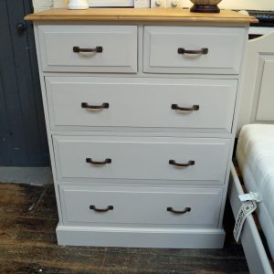 Edwardian 2 over 3 Chest Purbeck Stone