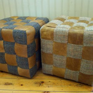 Harris Tweed Cubes